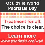 Today is World Psoriasis Awareness Day!